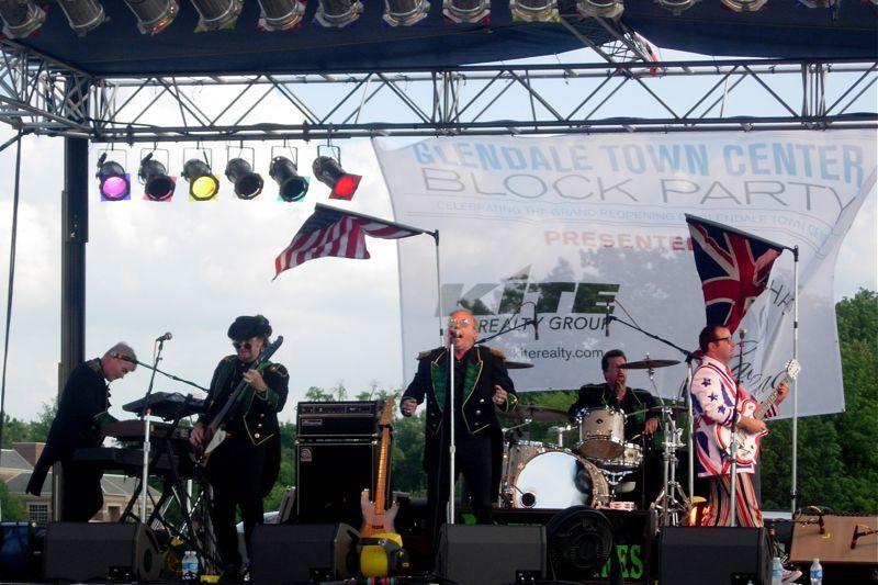 The Devonshires in concert